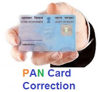 PAN card correction