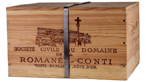 Domaine de la Romanee Conti OWC with Metallic band  courtesy of WineBid.com