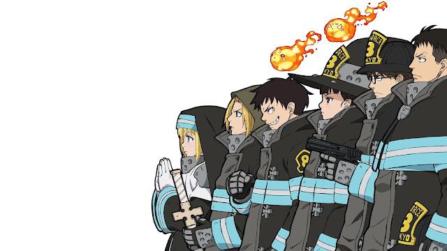 fire force wallpaper anime hd
