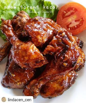 Resep Olahan Ayam - Ayam Goreng Kecap