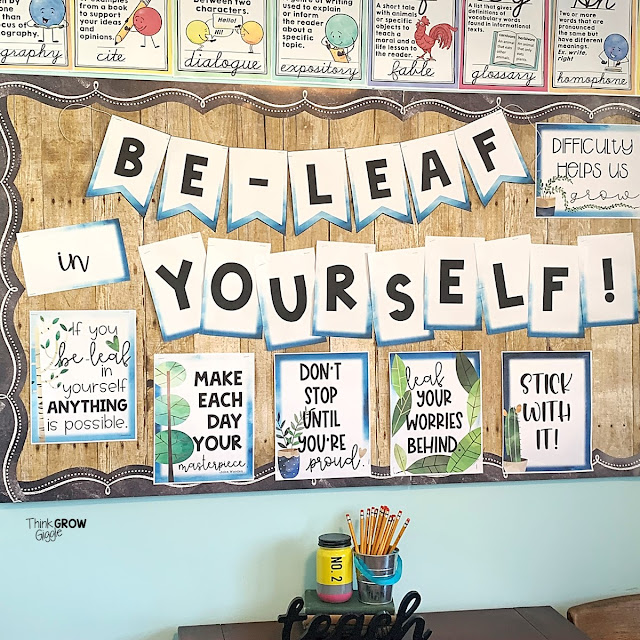 ideas to motivate and create calm testing classroom environment