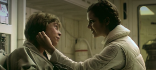 Deleted Luke Leia Kiss Scene Star Wars Empire Strikes Back