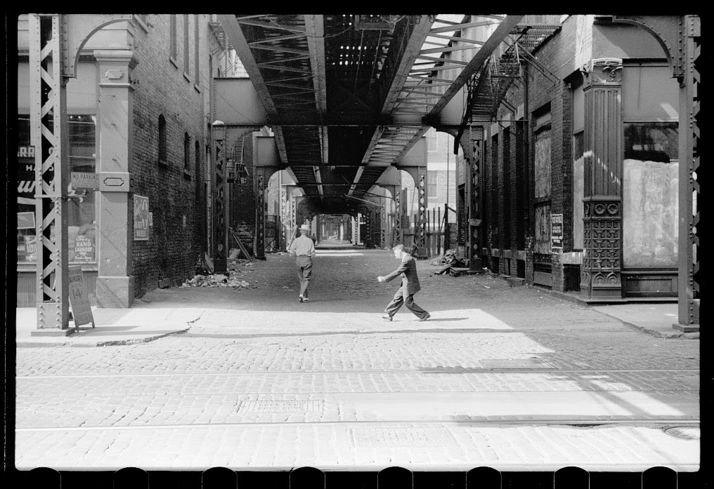 Amazing Black Amp White Photographs Of Street Scenes Of