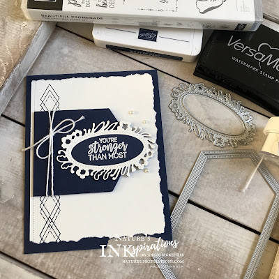 By Angie McKenzie for JOSTTT016 Design Team Inspirations; Click READ or VISIT to go to my blog for details! Featuring the Beautiful Promenade Stamp Set, Petal Labels Dies, and Stitched Nested Labels Dies; #cardchallenges #handmadecards #josdesignteaminspiration #josttt016 #aprilcardchallenge #floraldies #bakerstwine #pearls #encouragementcard #beautifulpromenadestampset #petallabelsdies  #stitchednestedlabelsdies #stampinup #cardtechniques