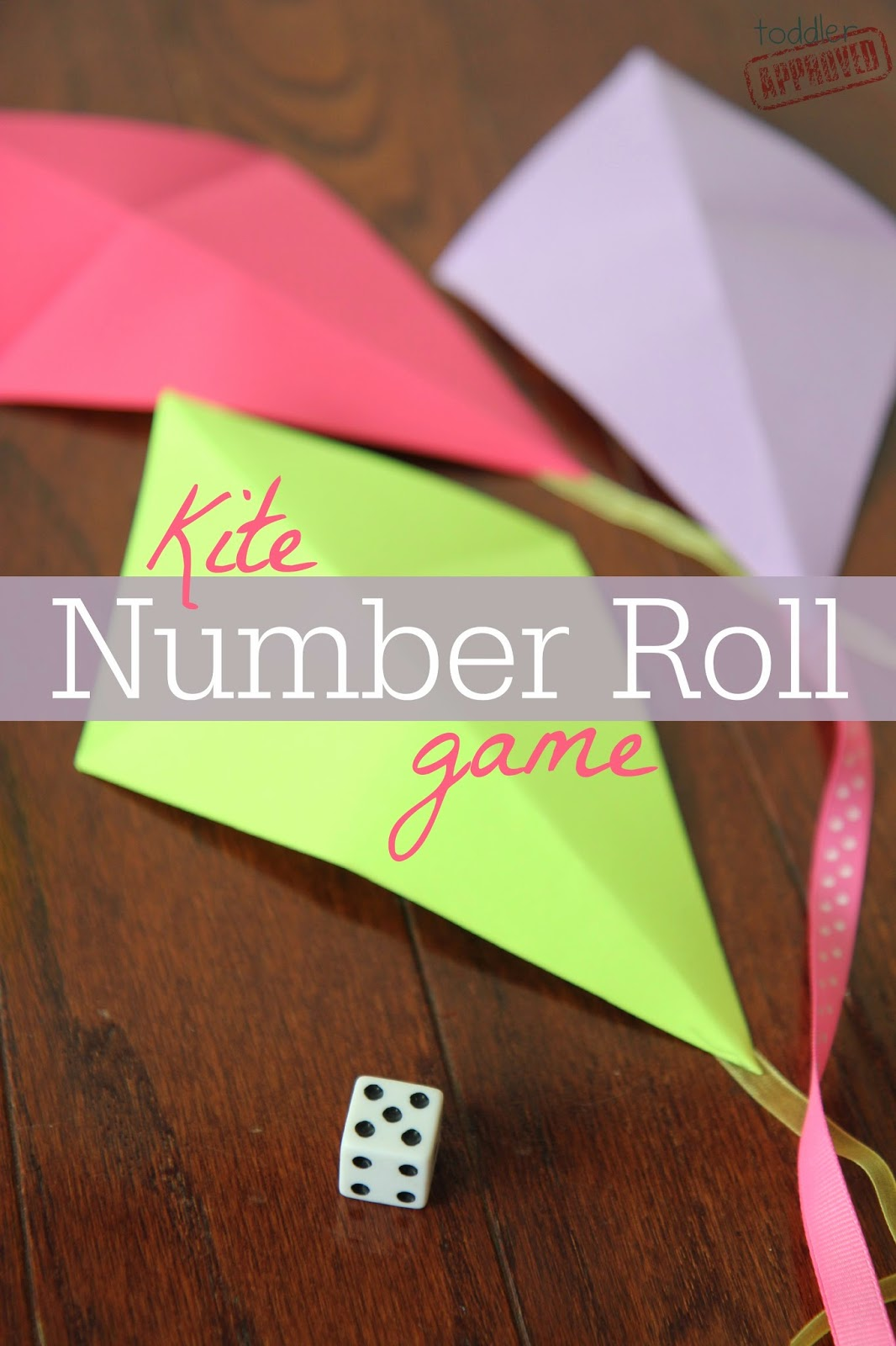 Toddler Approved Preschool Math Kite Number Roll Game