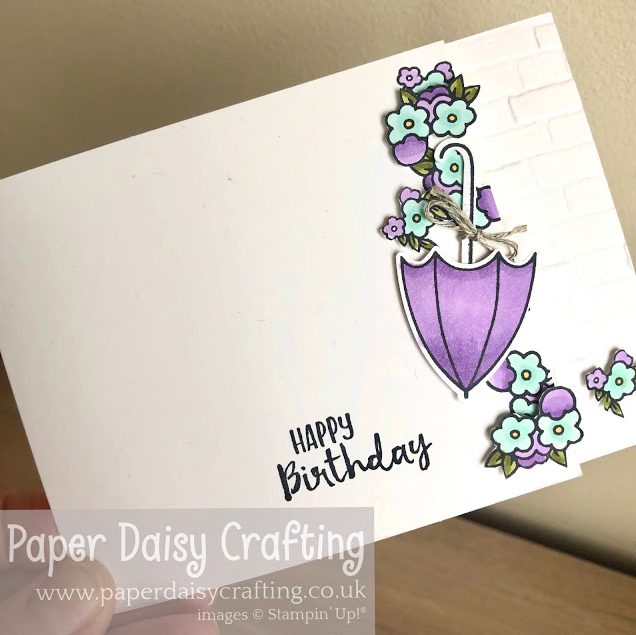 Nigezza Creates with Stampin' Up! & Paper Daisy Crafting & Under my Umberela