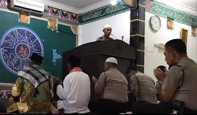 Juara 2 Qori indonesia, Jadi Imam Shalat Jum'at Di Masjid Nurul Arifin Prabumulih