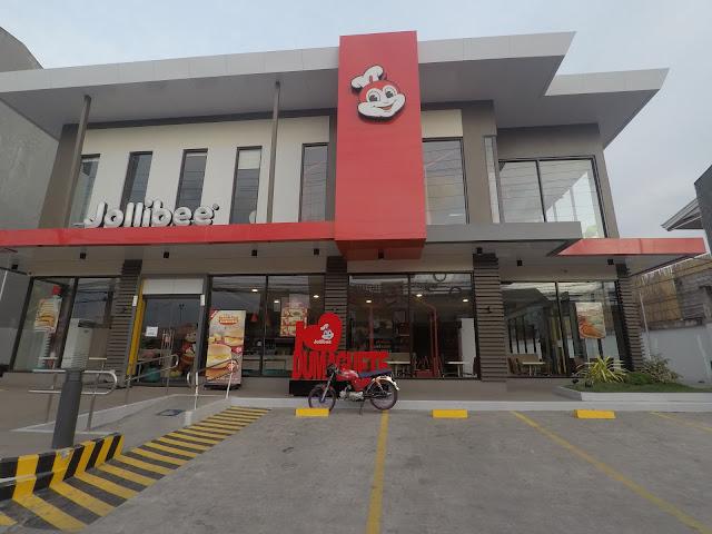 Jollibee across Robinsons Mall