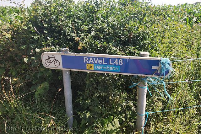 Ravel Cycling Route Wallonia L48 Vennbahn