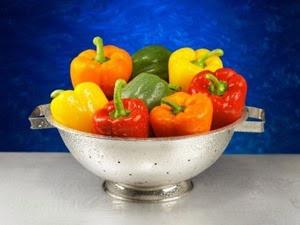 Cách chọn và bảo quản ớt chuông