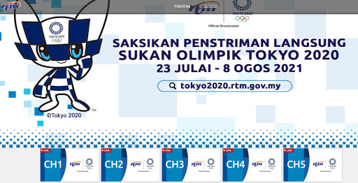 Watch Olympics Tokyo 2020 LIVE on Web / Mobile