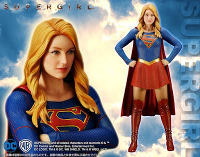 Arriva SuperGirl per la serie ArtFX della Kotobukiya