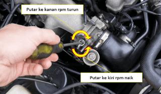 Cara Menyetel RPM Mobil Injeksi, lengkapnya!