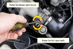 3 Ulasan Cara Menyetel RPM Mobil Injeksi