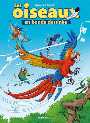 Couverture de la BD Les oiseaux en bande dessinée tome 2