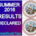 RESULTS OF SUMMER 2016 SECTION A & B DECLARED: HOW TO UNDERSTAND THE RESULTS