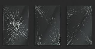 Cracked Fish Tank Glass