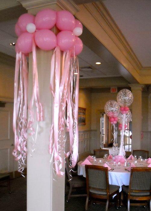 Aprende c mo hacer columnas de flores con globos para decorar mimundomanual - Como decorar columnas ...
