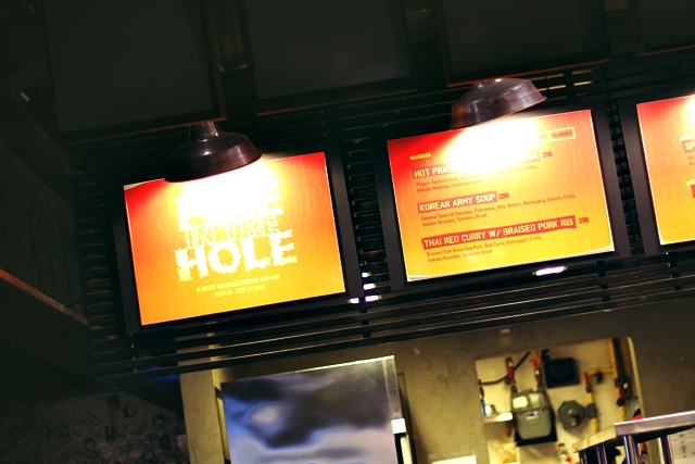Fire In The Hole at Hole In The Wall, Makati
