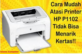 adalah printer yang banyak digunakan karena printer ini termasuk printer yang bandel jara Cara Memperbaiki Printer HP Laser Jet P1102 Dengan Mudah
