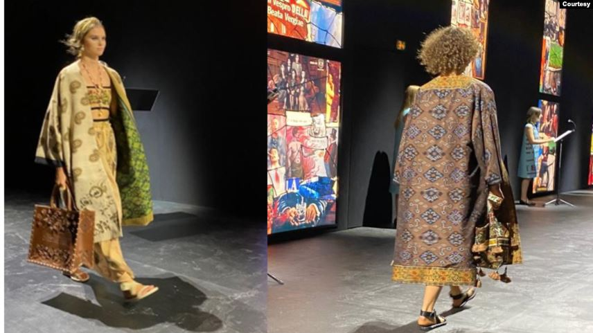Kain Endek Bali Jadi Koleksi Christian Dior Spring Summer 2021