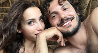 Francesca Rocco incinta di Giovanni Masiero