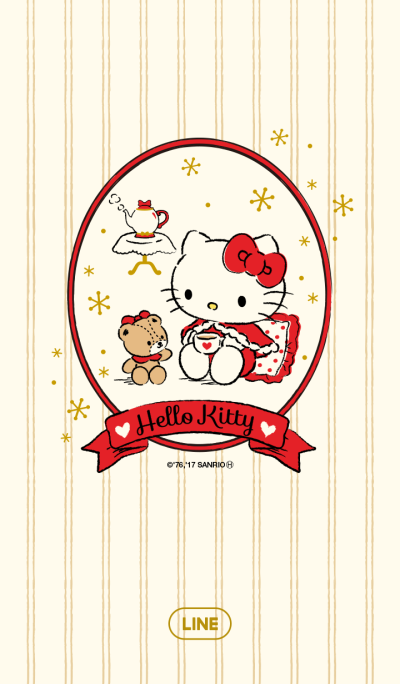 Hello Kitty Warm Winter