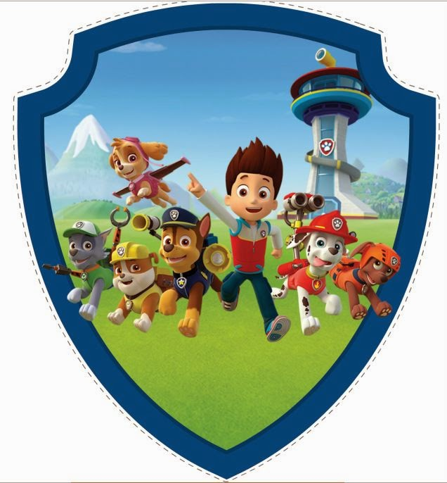 Free Printable image of  Paw Patrol.
