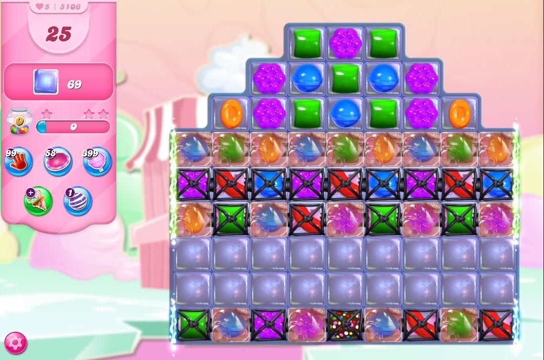 Candy Crush Saga level 5106