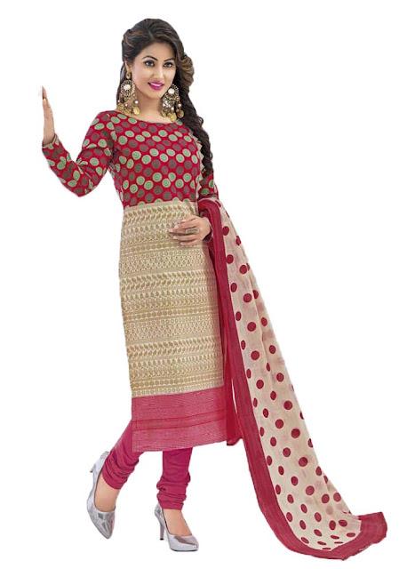 Tv Serial Star Akshara Hina Khan Special Best Salwar Suit ...