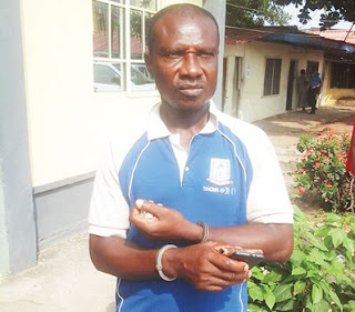 Photo: Married Football Club Manager Arrested For Raping His Male Players In Lagos