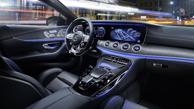 Mercedes AMG GT 4-Door Coupe Interior