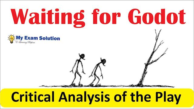 waiting for godot, waiting for godot critical essay, vadimir, estrogen, english literature, m.a english