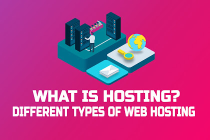 What is hosting? Different Types of Web Hosting