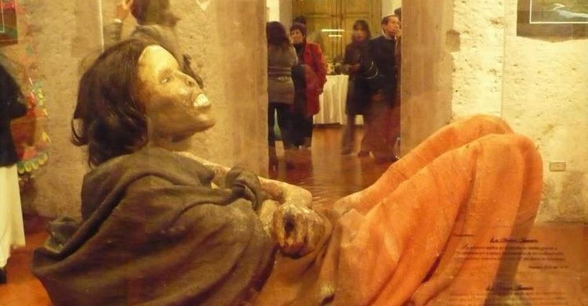 Perú declara Patrimonio Cultural de la Nación a la Momia Juanita (R. VM. N° 000184-2020-VMPCIC/MC)