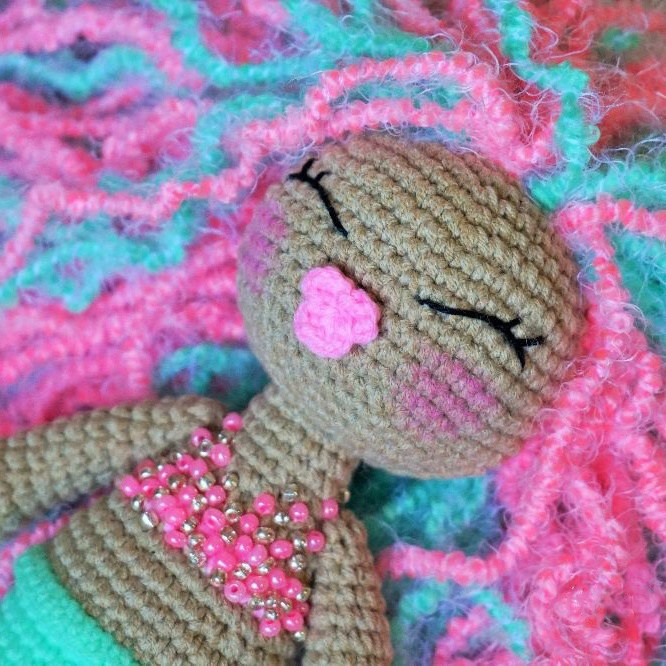 Amigurumi Mermaid Free Patterns | 666x666