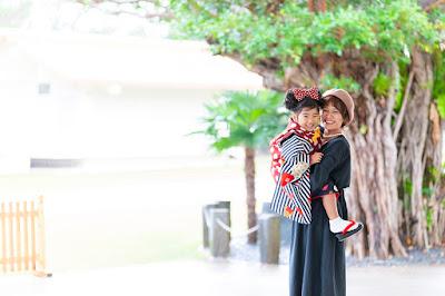 沖縄 七五三 ロケーションフォト