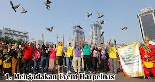 Mengadakan Event Harpelnas merupakan salah satu cara unik untuk rayakan hari pelanggan nasional