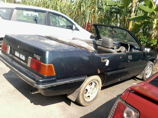 1990s Proton Saga Convertible And Iswara Station Wagon