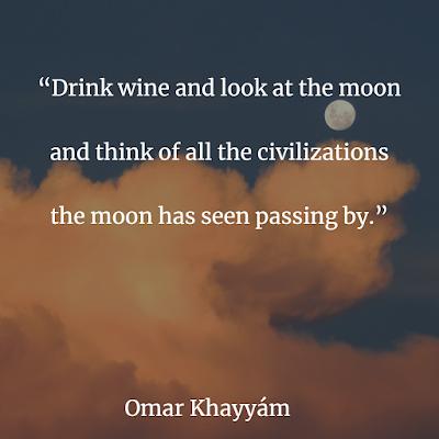 inspirational  Omar Khayyam quote