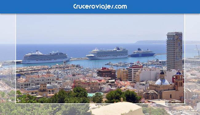 Alicante por el turismo de cruceros
