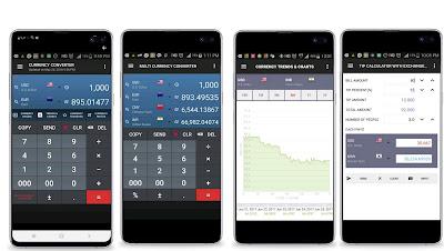 تحميل افضل ثلاث تطبيقات تحويل العملات |  تطبيق تحويل العملات لا اكثر من 170 عملة من حول العالم للاندرويد