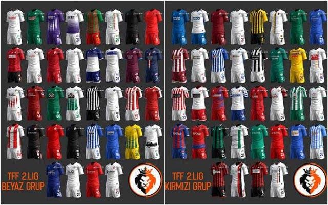 TFF 2. Lig 2019-2020 Kitpack PES 2013