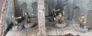 Various 15mm wargaming figures