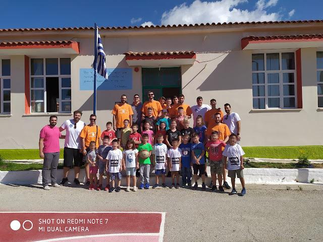 Η ομάδα του Οίακα στο Δημοτικό Σχολείο Αγίου Δημητρίου