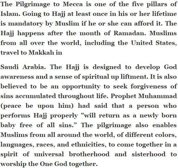 Ramadan Festival Short Essay In English