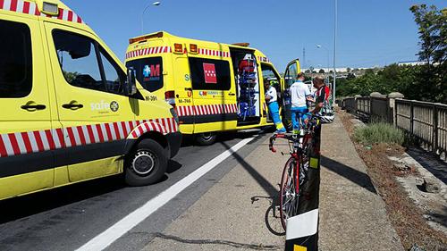 Ciclista atropellado en Aranjuez