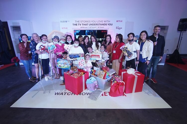 LG Celebrates Christmas with #ShareTheGoodLifeWithLG Campaign