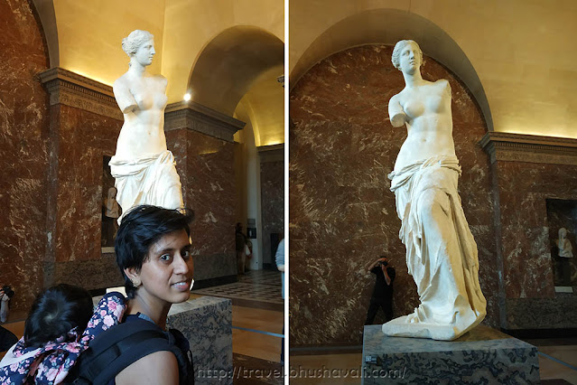 Venus de Milo at Louvre Museum Paris