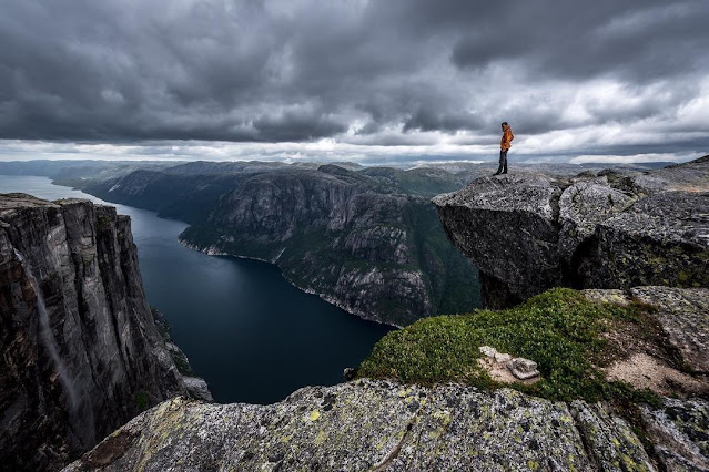 Fiorde Lysefjord - Noruega